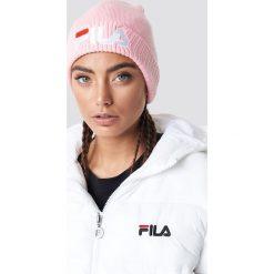 FILA Czapka Slouchy - Pink. Różowe czapki i kapelusze damskie Fila, z dzianiny. Za 121.95 zł.