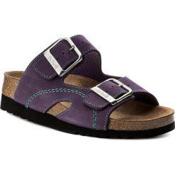 Klapki SCHOLL - Moldava Wedge Ad F27131 2177 350 Purple/Mint. Fioletowe klapki damskie Scholl, z nubiku. W wyprzedaży za 209.00 zł.