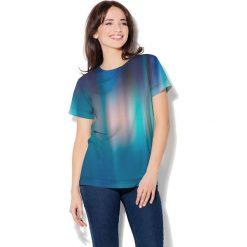 Colour Pleasure Koszulka CP-030  79 granatowo-niebieska r. XS/S. T-shirty damskie Colour Pleasure. Za 70.35 zł.