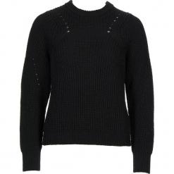 Sweter w kolorze czarnym. Czarne swetry damskie Gottardi, z wełny, z okrągłym kołnierzem. W wyprzedaży za 130.95 zł.
