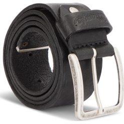 Pasek Męski WRANGLER - Metal Tip Belt W0B60U101 85 Black. Czarne paski damskie Wrangler, w paski, ze skóry. W wyprzedaży za 159.00 zł.