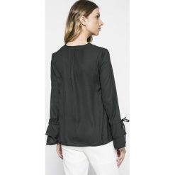 Vero Moda - Bluzka. Szare bluzki damskie Vero Moda, z materiału, casualowe. W wyprzedaży za 69.90 zł.