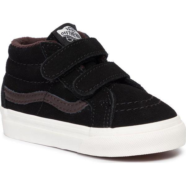 Sneakersy Sk8 Mid Reissue V VN0A3TL4V3Z1 (Mte) BlkChocolate Torte