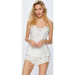 Lauren Ralph Lauren - Piżama. Szare piżamy damskie Lauren Ralph Lauren, z materiału. W wyprzedaży za 499.90 zł.