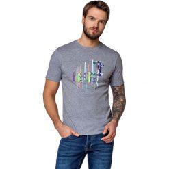 Koszulka Szara Jerry. Szare t-shirty i topy dla dziewczynek LANCERTO, z aplikacjami, z bawełny. W wyprzedaży za 59.90 zł.