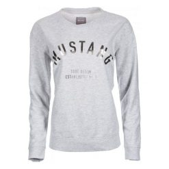 Mustang Bluza Damska S Szary. Szare bluzy damskie Mustang, z bawełny. Za 196.00 zł.