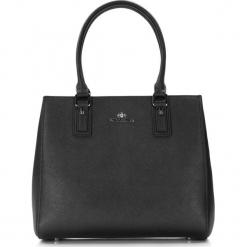 Torebka damska 86-4E-423-1. Czarne torebki do ręki damskie Wittchen, w paski. Za 559.00 zł.