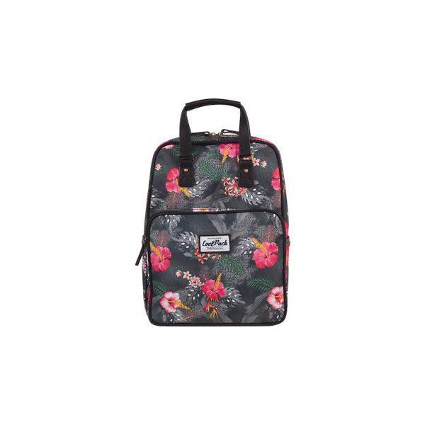 bbf992ddd3009 Plecak Młodzieżowy Coolpack Cubic Coral Hibiscus - Torby i plecaki ...
