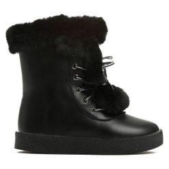 Czarne Śniegowce Baby Girl. Czarne buty zimowe dziewczęce Born2be. Za 69.99 zł.