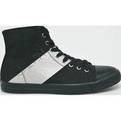 Calvin Klein Jeans - Trampki. Czarne trampki męskie Calvin Klein Jeans, z gumy. Za 499.90 zł.