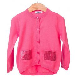 Primigi Sweter Dziewczęcy 98 Różowy. Czerwone swetry dla dziewczynek Primigi. W wyprzedaży za 115.00 zł.
