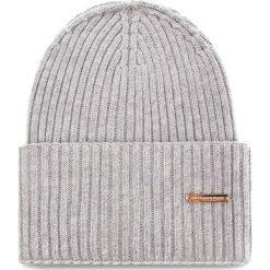 Czapka TRUSSARDI JEANS - Hat Rib-Knitted 59Z00079 E010. Szare czapki i kapelusze damskie TRUSSARDI JEANS, z jeansu. Za 189.00 zł.