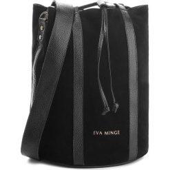 Torebka EVA MINGE - Miami 4G 18NN1372655EF  801. Czarne torebki do ręki damskie Eva Minge, ze skóry. W wyprzedaży za 349.00 zł.