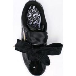 Puma - Buty Basket Heart Patent. Szare obuwie sportowe damskie Puma, z materiału. W wyprzedaży za 299.90 zł.