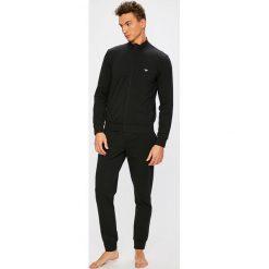 Emporio Armani - Piżama. Czarne piżamy męskie Emporio Armani, z bawełny. Za 499.90 zł.