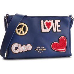 Torebka LOVE MOSCHINO - JC4086PP17LJ0750  Blu. Niebieskie listonoszki damskie Love Moschino, ze skóry ekologicznej. Za 799.00 zł.