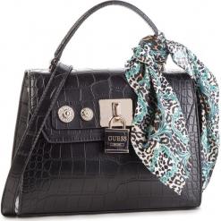 Torebka GUESS - HWCG71 82180 BLACK. Czarne torebki do ręki damskie Guess, z aplikacjami, ze skóry ekologicznej. Za 649.00 zł.