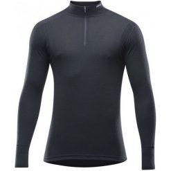 Devold Koszulka Męska Hiking Man Half Zip Neck Black L. Czarne koszulki sportowe męskie Devold, z wełny, z długim rękawem. Za 309.00 zł.