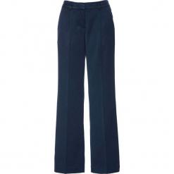 Spodnie Marlena bonprix ciemnoniebieski. Spodnie materiałowe damskie marki DOMYOS. Za 129.99 zł.
