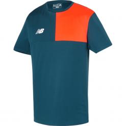 Koszulka New Balance MT710002TNO. Szare koszulki sportowe męskie New Balance, z jersey. W wyprzedaży za 69.99 zł.