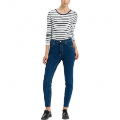 """Dżinsy """"Joyce"""" - Regular fit - w kolorze granatowym. Niebieskie jeansy damskie Cross Jeans. W wyprzedaży za 127.95 zł."""