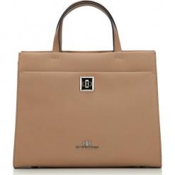 Torebka damska 87-4-482-9. Brązowe torebki do ręki damskie Wittchen, w paski. Za 299.00 zł.