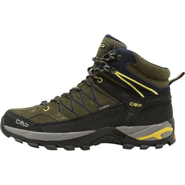 f3a3cabb CMP RIGEL MID SHOES WP Buty trekkingowe avocado/antracite/cedro ...