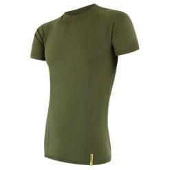 Sensor Koszulka Termoaktywna Merino Wool Active M Safari L. Szare koszulki sportowe męskie Sensor, z materiału, z krótkim rękawem. Za 195.00 zł.