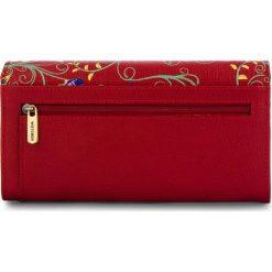 Duży Portfel Damski WITTCHEN - 14-1S-087-3X Red. Czerwone portfele damskie Wittchen, ze skóry. W wyprzedaży za 279.00 zł.