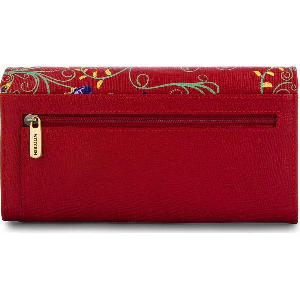 3ca84e5b1d88f Duży Portfel Damski WITTCHEN - 14-1S-087-3X Red - Czerwone portfele ...