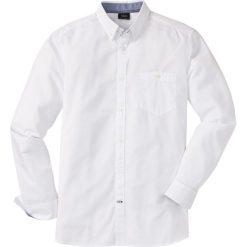 Koszula z długim rękawem bonprix biały. Koszule męskie marki Giacomo Conti. Za 69.99 zł.
