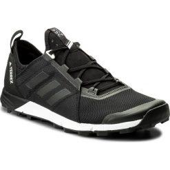 Buty adidas - Terrex Agravic Speed CM7577 Cblack/Cblack/Cblack. Czarne buty sportowe męskie Adidas, z materiału. W wyprzedaży za 399.00 zł.