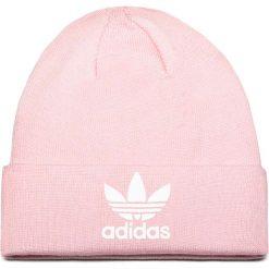 Czapka adidas - Trefoil Beanie DH4299  Clpink. Czerwone czapki i kapelusze damskie marki OLAIAN, z materiału. Za 89.95 zł.