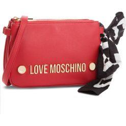Torebka LOVE MOSCHINO - JC4308PP06KU0000  Rosso. Czerwone listonoszki damskie Love Moschino, ze skóry ekologicznej. Za 719.00 zł.