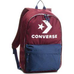 Plecak CONVERSE - 10007031-A05  613. Czerwone plecaki damskie Converse, z materiału, sportowe. W wyprzedaży za 129.00 zł.
