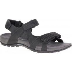 Merrell Sandały Męskie Sandspur Rift Strap Black 10 (44). Czarne sandały męskie Merrell. Za 329.00 zł.