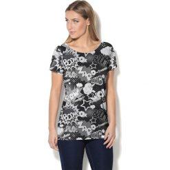 Colour Pleasure Koszulka CP-034 227 czarno-szara r. M/L. T-shirty damskie Colour Pleasure. Za 70.35 zł.