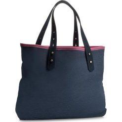 Torebka ZAXY - ZZ0021  Granat/Navy. Niebieskie torebki do ręki damskie Zaxy, z materiału. W wyprzedaży za 149.00 zł.