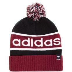 Czapka adidas - Pompombeanie DH2574  Black/Cburgu/White. Czerwone czapki i kapelusze męskie Adidas. Za 129.00 zł.