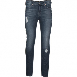 """Dżinsy """"Vegas"""" - Slim fit - w kolorze niebieskim. Niebieskie jeansy męskie Mustang. W wyprzedaży za 239.95 zł."""