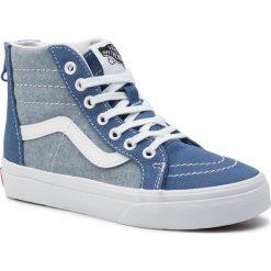 Niebieskie buty dla chłopców Vans Kolekcja zima 2020