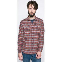 Jack & Jones Vintage - Koszula. Szare koszule męskie Jack & Jones Vintage, w kratkę, z bawełny, z klasycznym kołnierzykiem, z długim rękawem. W wyprzedaży za 69.90 zł.