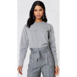 Rut&Circle Bluza Vera - Grey. Szare bluzy damskie Rut&Circle, z bawełny. W wyprzedaży za 60.98 zł.