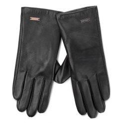 Rękawiczki Damskie WITTCHEN - 39-6-500-1  Czarny. Czarne rękawiczki damskie Wittchen, ze skóry. W wyprzedaży za 149.00 zł.
