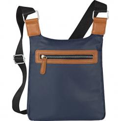 Torebka na ramię bonprix ciemnoniebieski. Niebieskie torby na ramię damskie bonprix. Za 37.99 zł.