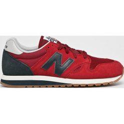 New Balance - Buty U520EK. Brązowe buty sportowe męskie New Balance, z gumy. W wyprzedaży za 319.90 zł.