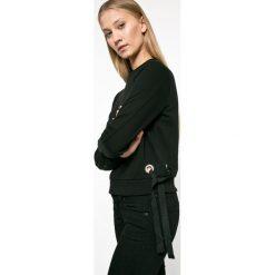 Tally Weijl - Bluza. Czarne bluzy damskie TALLY WEIJL, z bawełny. W wyprzedaży za 39.90 zł.