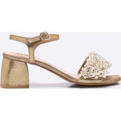 Gioseppo - Sandały. Szare sandały damskie Gioseppo, z materiału. W wyprzedaży za 299.90 zł.