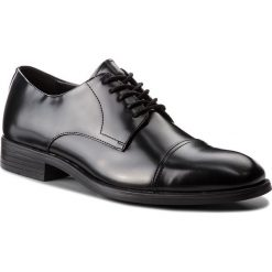Półbuty CALVIN KLEIN - Carnell F1360 Black. Czarne eleganckie półbuty Calvin Klein, z materiału. Za 719.00 zł.