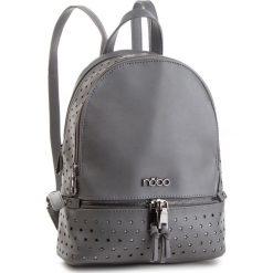 Plecak NOBO - NBAG-F2450-C019 Szary. Szare plecaki damskie Nobo, ze skóry ekologicznej. W wyprzedaży za 199.00 zł.